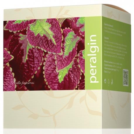 Peralgin 120 kapsúl Energy, obsah olejov a výťažkov z liečivých rastlín a exotických húb, na alergie