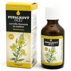 BIO Pupalkový olej panenský 50ml Health Link