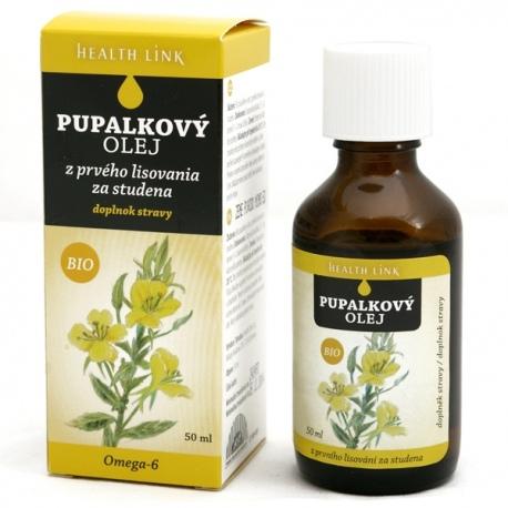 BIO Pupalkový olej 50ml panenský Health Link