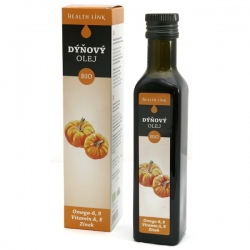 BIO Tekvicový olej panenský 250ml Health Link
