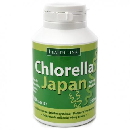 Chlorella Japan 150g (750 tabliet x 200mg) Health Link, Japonsko