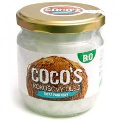 BIO Kokosový olej 400ml extra panenský Health Link