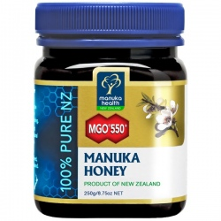 MGO 550+ Manuka med 250g / 500g Manuka Health New Zealand
