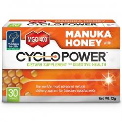 CycloPower 30ks kapsúl s Manuka medom MGO 400+ Manuka Health NZ - na podporu tráviaceho traktu