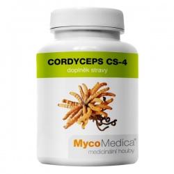 Cordyceps CS-4 extrakt z mycélia 90 kapsúl x 500mg MycoMedica (30% polysacharidov)