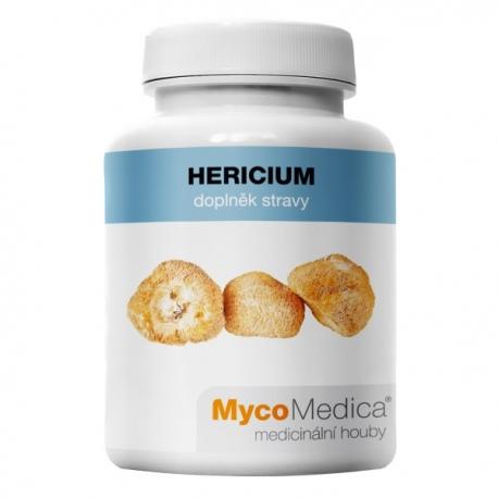 Hericium extrakt z plodnice 90 kapsúl x 500mg MycoMedica (30% polysacharidov)