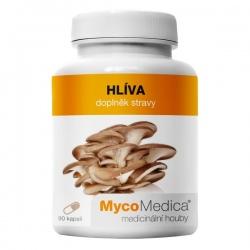Hliva ustricová extrakt z plodnice 90 kapsúl x 500mg MycoMedica (30% polysacharidov)