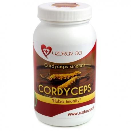 Cordyceps sinensis extrakt 100g prášok Uzdrav sa (30% polysacharidov)
