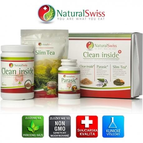 Clean Inside Program Natural Swiss - očista čriev od parazitov, usadenín