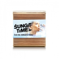 Prírodný vodný filter Šungit Time 150g na 1L vody