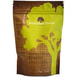 BIO Mladý zelený jačmeň z Nového Zélandu prášok 200g Rainforest Foods