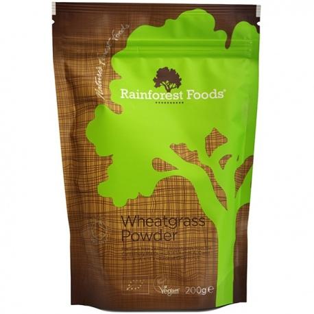BIO Novozélandská Mladá pšenica prášok 200g Rainforest Foods