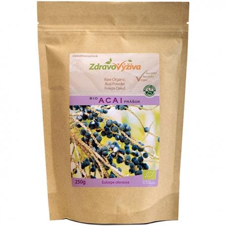 Bio Acai prášok RAW 250g Zdravovýživa - plody sušené mrazom