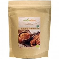 BIO Kokosový cukor z nektáru kokosových kvetov 500g Zdravovýživa