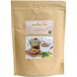 Bio Konopný proteín prášok RAW 500g Zdravovýživa - 51% bielkovín