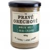 Mandľové maslo s bielou čokoládou 400g Pravé Orechové - mleté 90% mandle, 10% biela čokoláda Callebaut