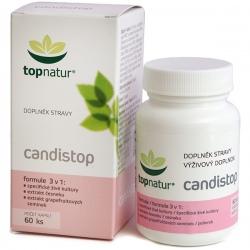 Candistop 60 kapsúl Topnatur - probiotiká, cesnak, grapefruitový extrakt