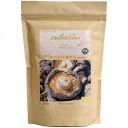 Bio Shiitake prášok 250g Zdravovýživa - sušená mletá huba