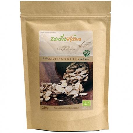 Bio Astragalus prášok 250g Zdravovýživa - sušený mletý koreň