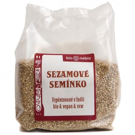 BIO Sezamové semienka nelúpané 200g Bio Nebio