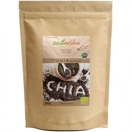 Bio Chia semienka RAW 500g Zdravovýživa