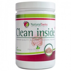 Clean inside vláknina na očistu čriev 450g Natural Swiss