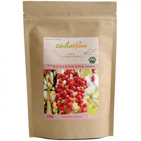 Bio Schisandra prášok 250g Zdravovýživa - sušené mleté plody