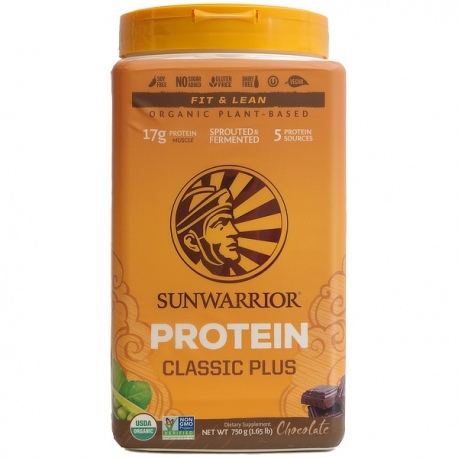BIO Classic Plus proteín čokoláda 750g Sunwarrior