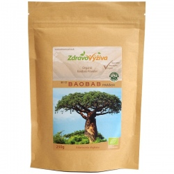 BIO Baobab prášok 250g Zdravovýživa