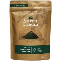 Bio Spirulina prášok 225g Green Origins