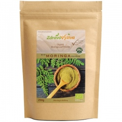 Bio Moringa prášok 250g Zdravovýživa - mleté listy