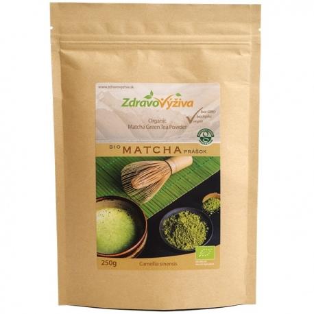 Bio Matcha prášok 250g Zdravovýživa - zelený čaj, mleté listy
