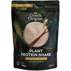 BIO Proteínový prášok vanilka a baobab 250g Green Origins