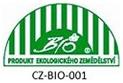 Produkt ekologického poľnohospodárstva CZ-BIO-001