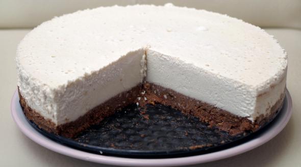 Raw Tiramisu celá torta