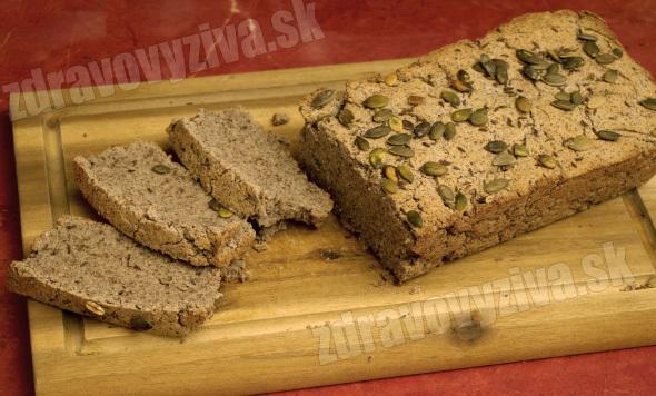 Kokosový ľanovo-pohánkový chlieb