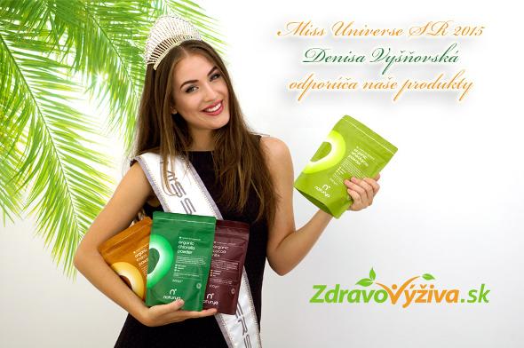 Miss Universe SR 2015 Denisa Vyšňovská preferuje zdravý životný štýl