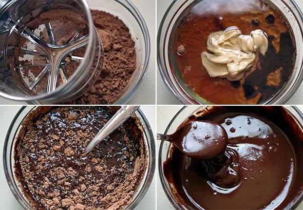 Recept RAW čokoláda s kokosovým olejom a kešu maslom