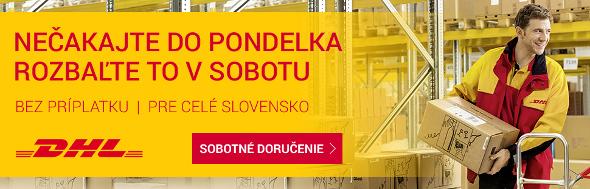 DHL sobotné doručenie na Slovensku
